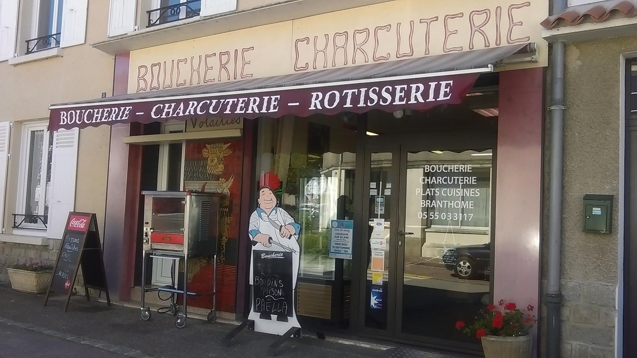 logoBoucherie - Traiteur Branthôme