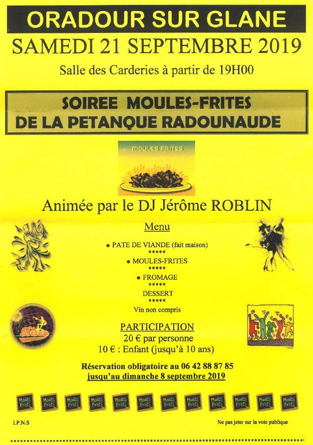 logoPétanque Soirée Moules-Frites